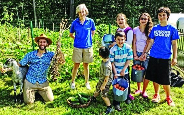 Rhode Island Synagogue Founds Garden to Support Community