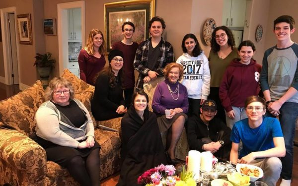 Living Room Memories of The Holocaust With Survivors