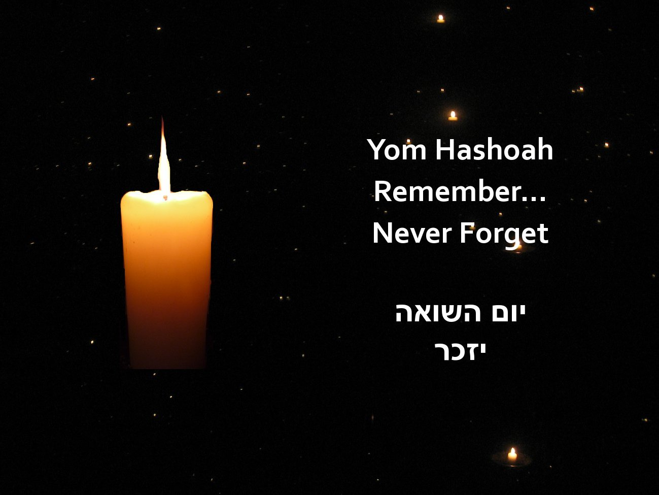 Yom Hashoah Remember