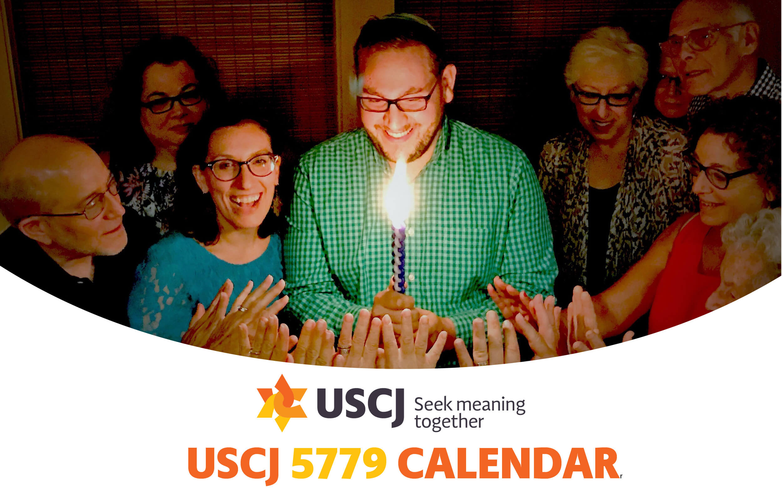 Order Your Copy of USCJ's 5779 Calendar