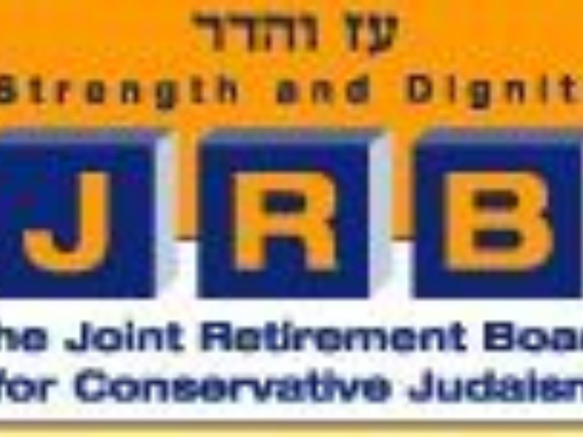 Joint Retirement Board for Conservative Judaism logo